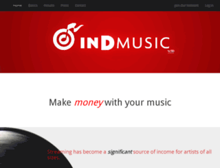 indmusicnetwork.com screenshot