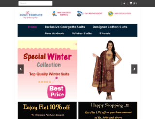 indo-essence.com screenshot