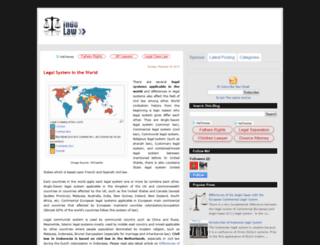 indo-lawyer.blogspot.com screenshot