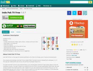 indo-pak-tv-free.soft112.com screenshot