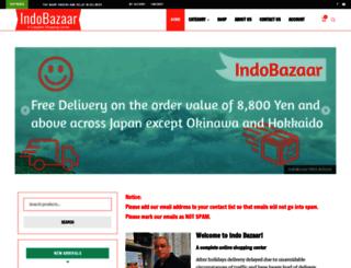 indobazaar.com screenshot
