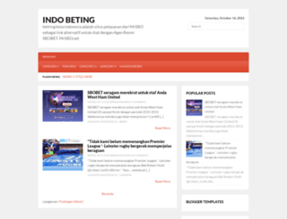 indobeting.com screenshot