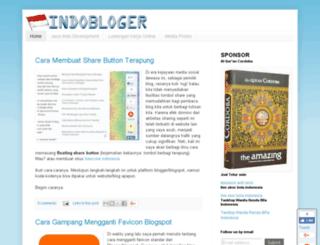 indobloger.com screenshot