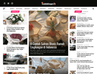 indoblognet.com screenshot