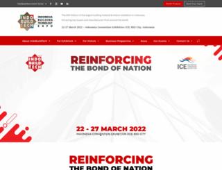 indobuildtech.com screenshot