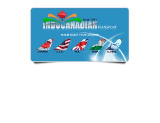 indocanadiantransport.com screenshot