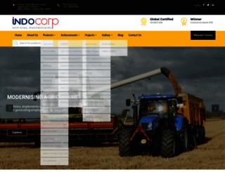 indocorp.org screenshot