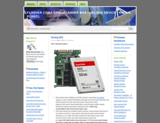 indoflasher.wordpress.com screenshot