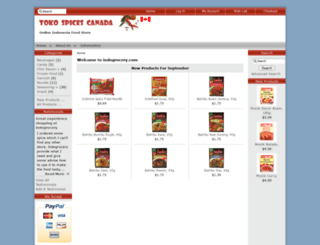 indogrocery.com screenshot