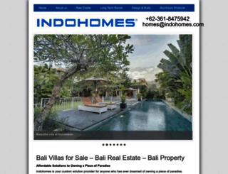 indohomes.com screenshot
