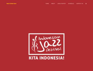 indojazzfest.com screenshot