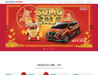 indomobilnissan.com screenshot
