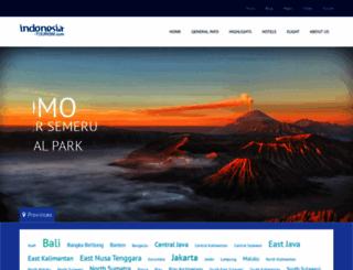 indonesia-tourism.com screenshot