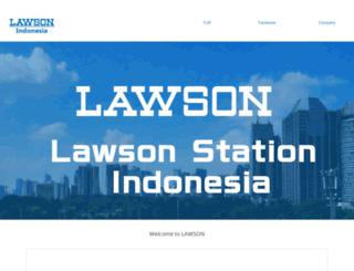 indonesia.lawson.jp screenshot