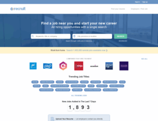 indonesia.recruit.net screenshot