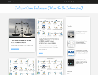 indonesiacara.blogspot.com screenshot