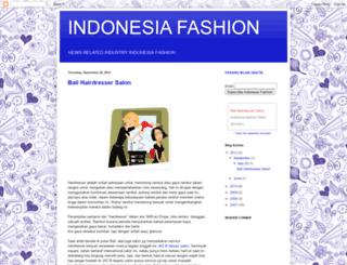 indonesiafashion.blogspot.com screenshot