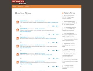 indonesiaheadlines.com screenshot