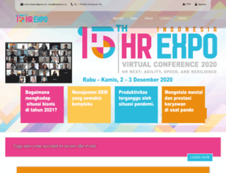 indonesiahrexpo.com screenshot