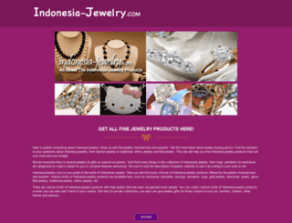 indonesiajewelry.com screenshot