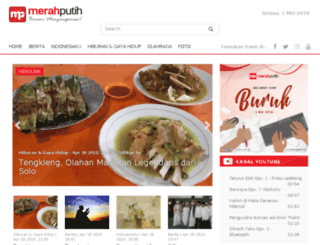 indonesiana.merahputih.com screenshot