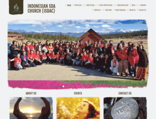 indonesiansdachurch.adventistchurchconnect.org screenshot