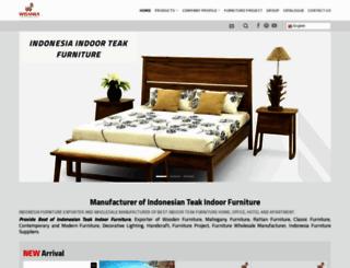indoor-teak.com screenshot