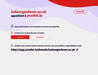 indoorgardener.co.uk screenshot