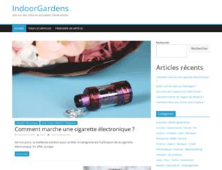 indoorgardens.fr screenshot