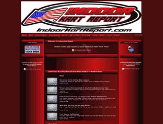 indoorkartreport.com screenshot