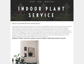 indoorplantservice.yolasite.com screenshot