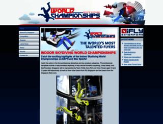 indoorskydivingchampionships.com screenshot