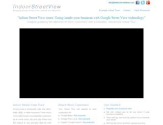 indoorstreetview.com screenshot