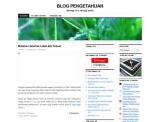 indopedia.wordpress.com screenshot