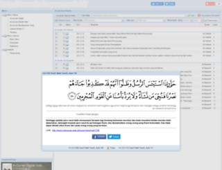 indoquran.web.id screenshot