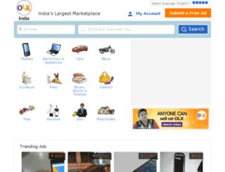 indore.olx.in screenshot