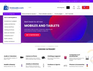 indosale.com screenshot
