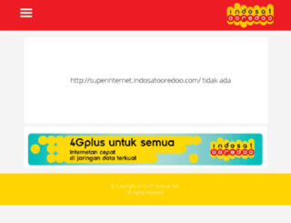 indosat.cf screenshot