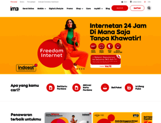 indosatooredoo.com screenshot