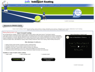 indosportscoating.com screenshot