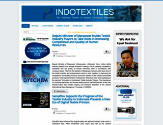indotextiles.com screenshot