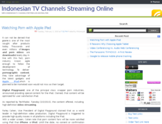 indotvstreaming.blogspot.com screenshot