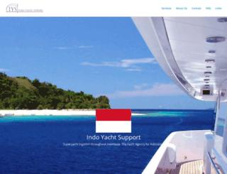 indoyachtsupport.com screenshot