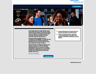 indstate.studentaidcalculator.com screenshot
