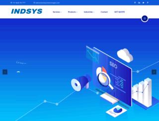indsystechnologies.com screenshot