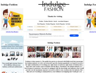 indulgefashion.com.au screenshot