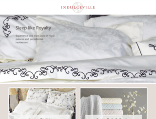 indulgeville.com screenshot