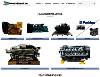 industrialdiesel.net screenshot