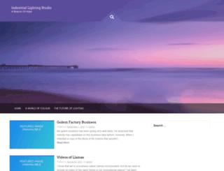 industriallightingstudio.com.au screenshot