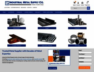 industrialmetalsupply.com screenshot